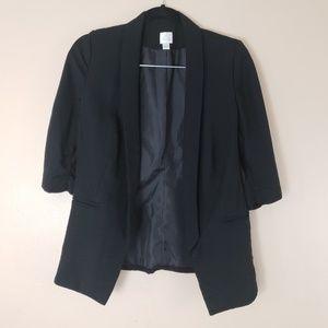LC Lauren Conrad Black Blazer Size 2 G16